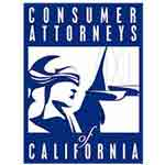 Consumer Attorneys of California Badge